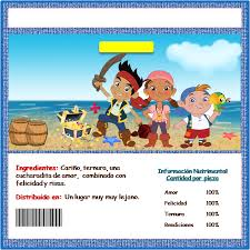 jake neverland pirates free printable candy bar labels