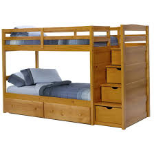 Wooden Bunk Beds With Stairs And Drawers Home Design Ideas - Wooden bunk beds with drawers