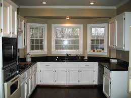 kitchen without island exquisite u shaped kitchen design without island using white