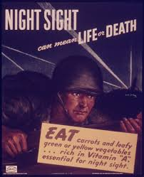 How Does A Blind Person See The World A Wwii Propaganda Campaign Popularized The Myth That Carrots Help