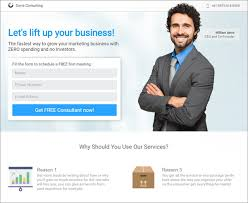 templates for business consultants 8 new landing page templates for consultants a detailed review