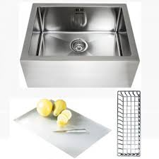 Astini Belfast   Bowl Brushed Stainless Steel Kitchen Sink - Kitchen sink accessories