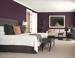 purple and blue bedroom color schemes