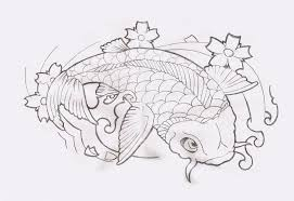 japanese koi fish designs on chest for in 2017