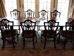 mahogany dining room set endearing mahogany dining chairs with shield back dining room