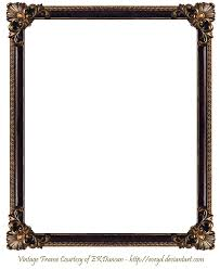 frame png elaborate wood frame 3 by ekduncan by eveyd on