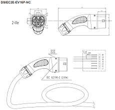 modified evse type 1 to type 2 conversion speak ev electric