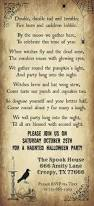 Free Halloween Party Invitations Printable Crafty In Crosby Halloween Party Invitation 2014