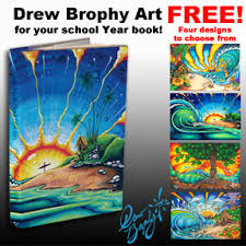 year books free free cover for your school year book drew brophy surf