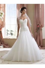 trumpet wedding dresses trumpet strapless tulle lace beaded wedding dress