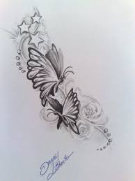 butterfly would like something like this in memory of