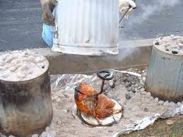 turkey can cooking a turkey in a trash can