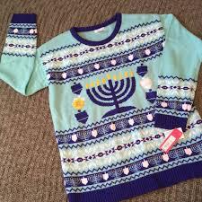 light up hanukkah sweater xhilaration tops light up hanukkah sweater poshmark