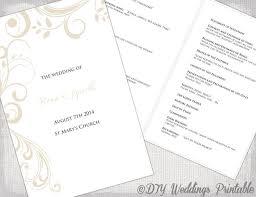 order of wedding program 29 best wedding order of service images on