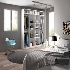 meuble penderie chambre le plus etonnant armoire penderie sur mesure agendart ivoire