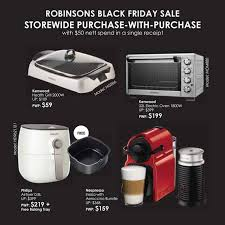 nespresso deals black friday robinsons black friday sale up to 80 off storewide stores open