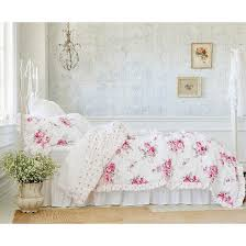 sunbleached floral comforter set twin pink 2pc simply shabby