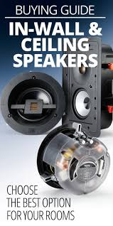 Top Rated Ceiling Speakers by Best 25 Ceiling Speakers Ideas Only On Pinterest Surround Sound