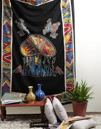 decor cool tapestry wall hangings for hippie room decor