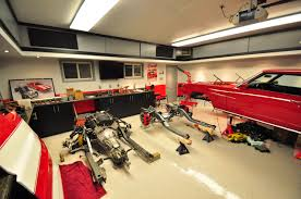 awesome car garages cool home garages man cave garage floor ideas awesome car plus
