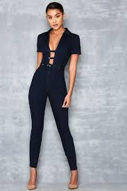 fitted jumpsuit feel denim fitted jumpsuit rocks