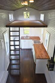 the interior of the robin u0027s nest tiny house see more at