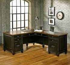 L Shaped Desk Office Kathy Ireland Home By Martin Furniture Hartford 3 L Shaped