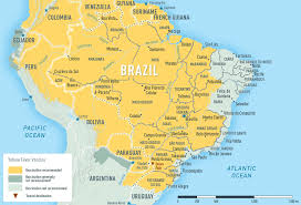 map of brazil yellow fever malaria information by country chapter 3 2018