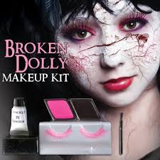 Halloween Eye Makeup Kits by Broken Dolly Halloween Makeup Kit U2013 Silverrainstudio Com
