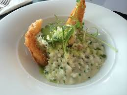 cuisine patisson herbs risotto with breaded patisson picture of froccsterasz