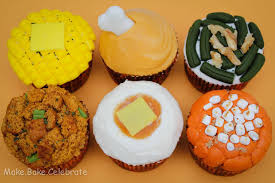 9 thanksgiving dinner themed cupcakes photo creative thanksgiving