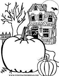 Fall Halloween Coloring Pages by Create Your Own Jack O Lantern Halloween Coloring Printable