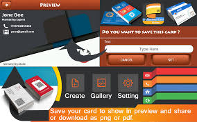 photo card maker business card maker