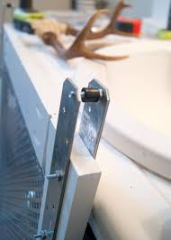 Make Barn Door Hardware by Project Kid U0027s Bathroom Diy Barn Door Window Cover For The
