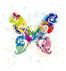 abstract butterfly vector graphic free vector graphics all