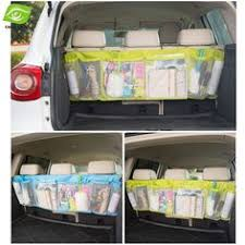 siege auto pas large car organizer professional pattern has water bottle pocket