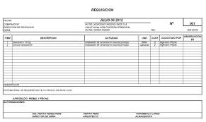 formato hoja de vida 2016 colombia formato requisición de compra office formats