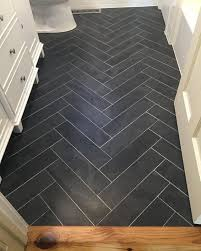 Ideas For Bathroom Flooring Best 25 Dark Floor Bathroom Ideas On Pinterest Bathrooms White