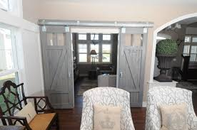 Barn Doors For Homes Interior Modern House Picturesque Grey Finished Interior Barn Doors For