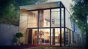 Eames House Floor Plan Eames Case Study House 8 Goes Tiny U2013 Modern Tiny House