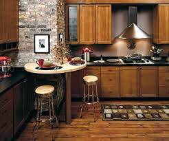 Hickory Kitchen Cabinets Home Depot Hickory Kitchen Cabinets Open Concept Kitchen Large Craftsman