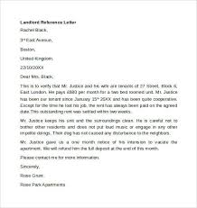 landlord recommendation letter sample landlord recommendation