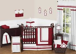 white and red crib bedding red crib bedding sets for girls