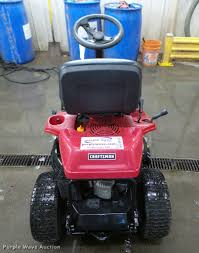 2014 craftsman r1000 lawn mower item da1797 sold april