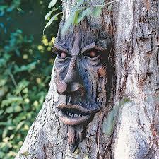 assorted creatures outdoors fantasy statues garden design