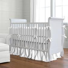 baby doll bedding carnation eyelet round crib bedding set white