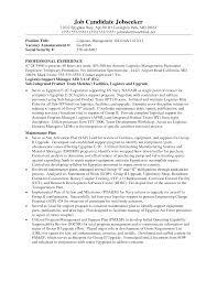 Resume For Logistics Executive Logistics Resume Sample Purchasing Manager Professional Senior