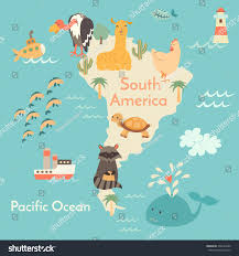 North America South America Map by Physical Map Of North America Ezilon Maps Map Of South America