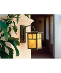 Craftsman Sconce Arroyo Craftsman Mb 6 Mission 6 Inch Wide 1 Light Outdoor Wall