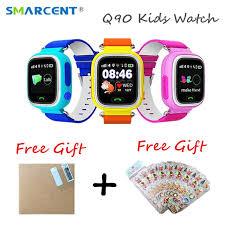 aliexpress location q90 kids gps watch smart baby watch with wifi location sos call